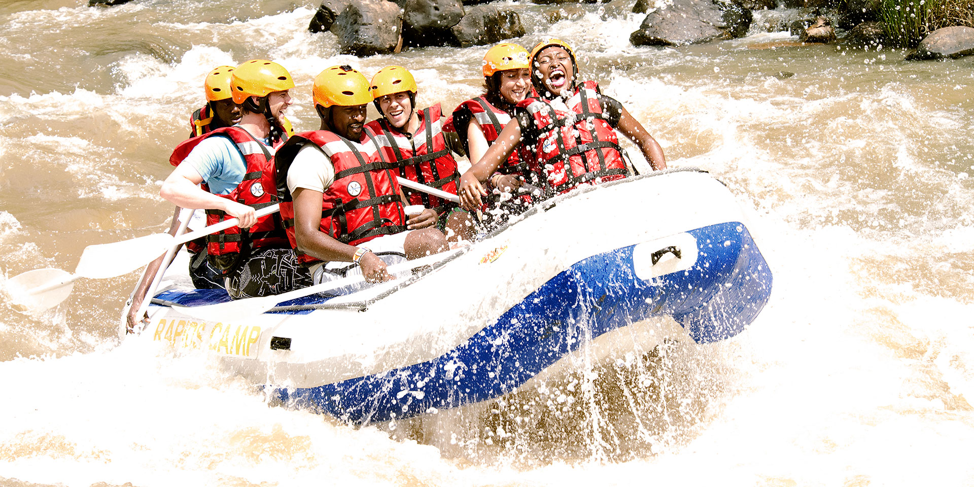 Rafting in acque cristalline